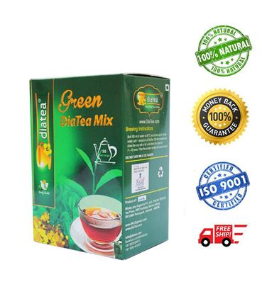 DiaTea Green Tea Mix - 100gm