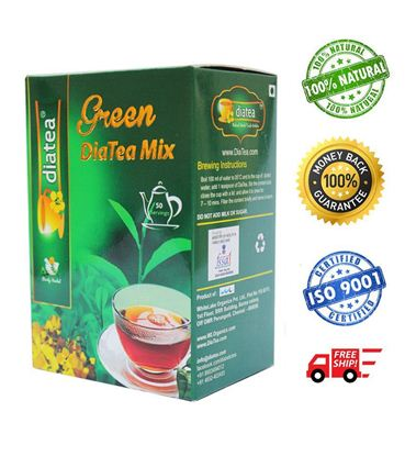 DiaTea Green Tea Mix - 250gm