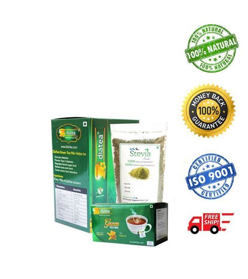 DiaTea Green Tea Mix Combo