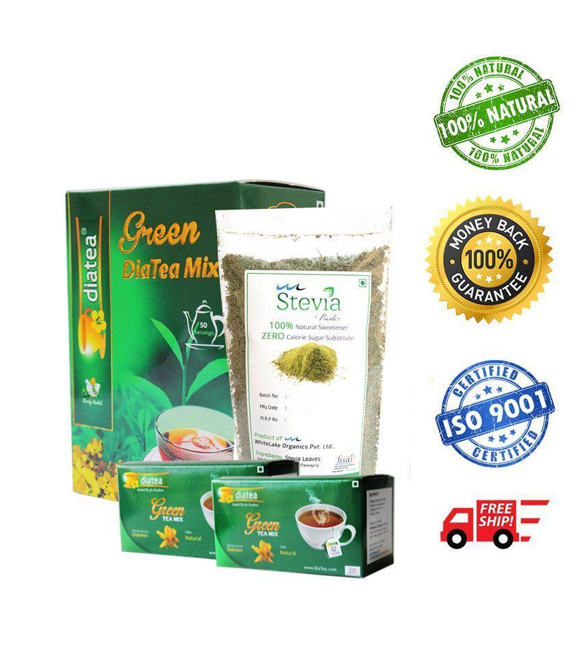 DiaTea Green Tea Mix Combo 30