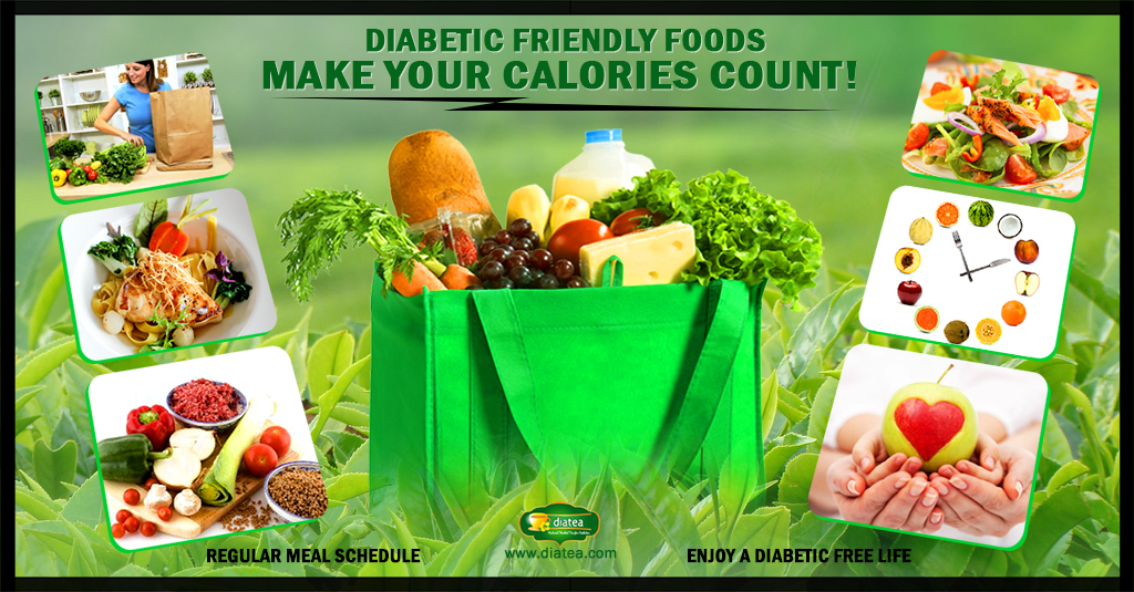 diabetic friendly foods make your calories count!diabetic friendly foods \u2013 make your calories count!