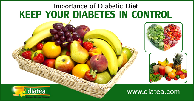 Importance Of Diet In Diabetes Control